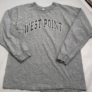 West Point Gray long sleeve t-shirt